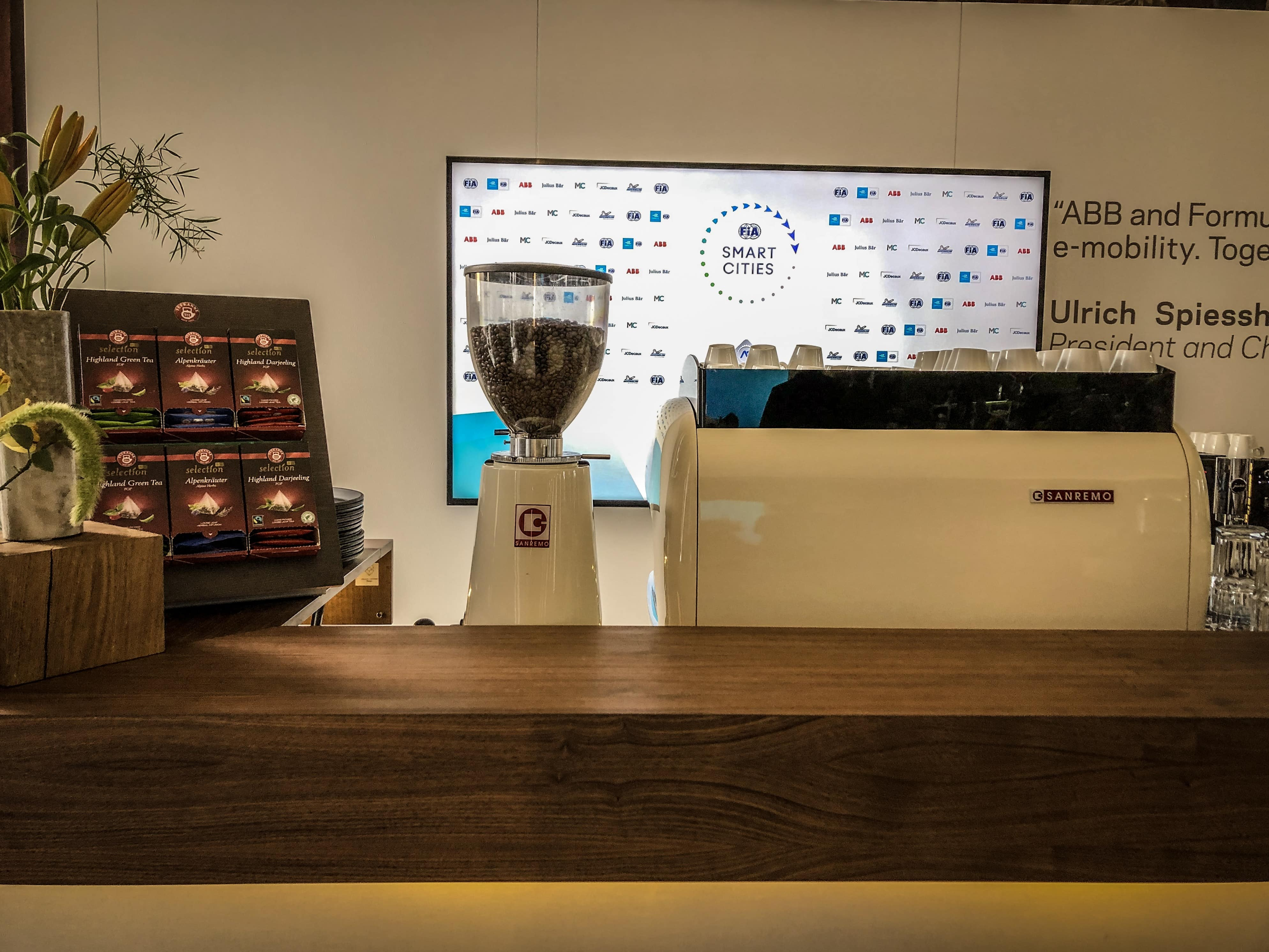 Barista Messe Catering