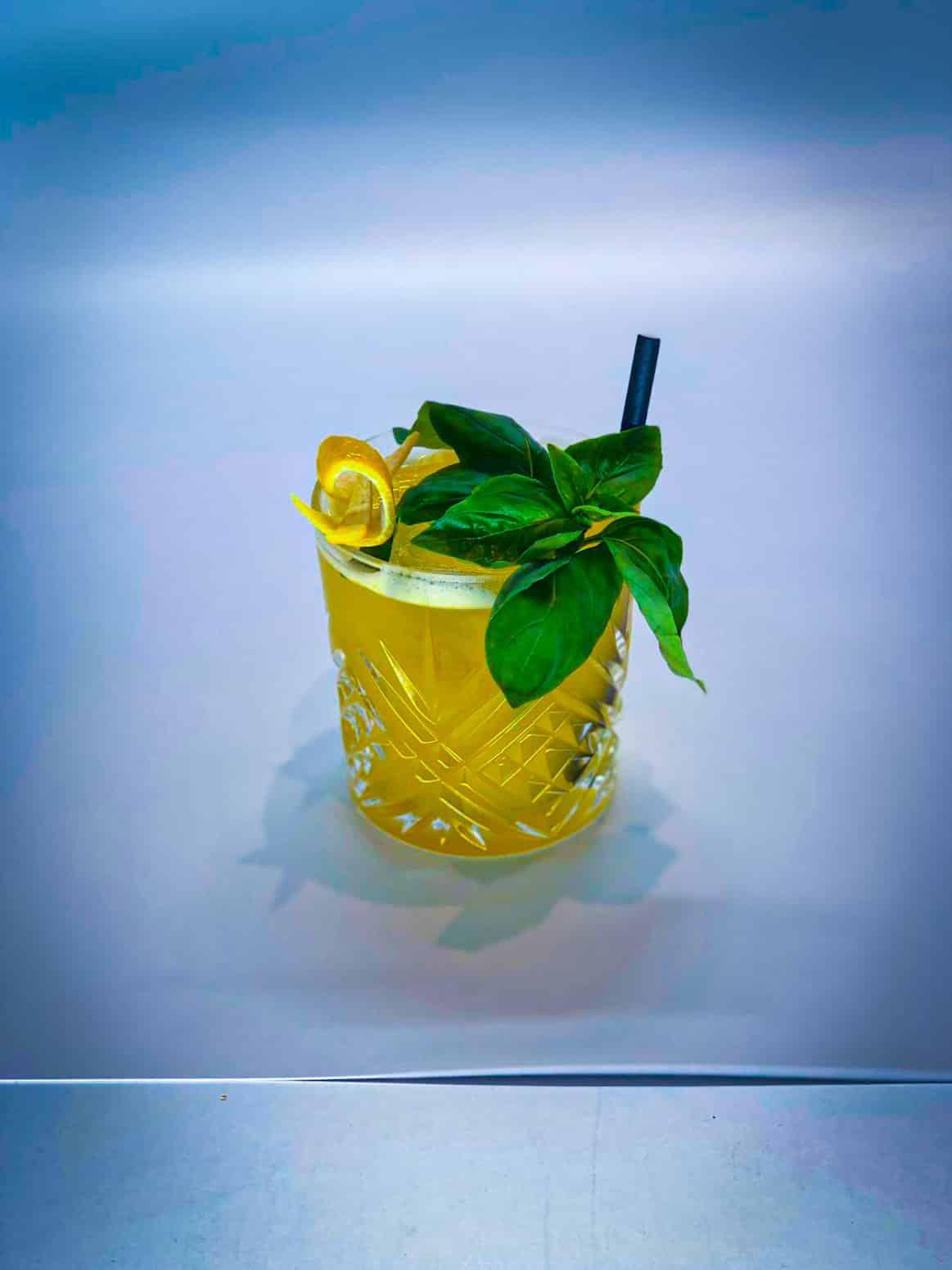 Gin Basil Smash Twist